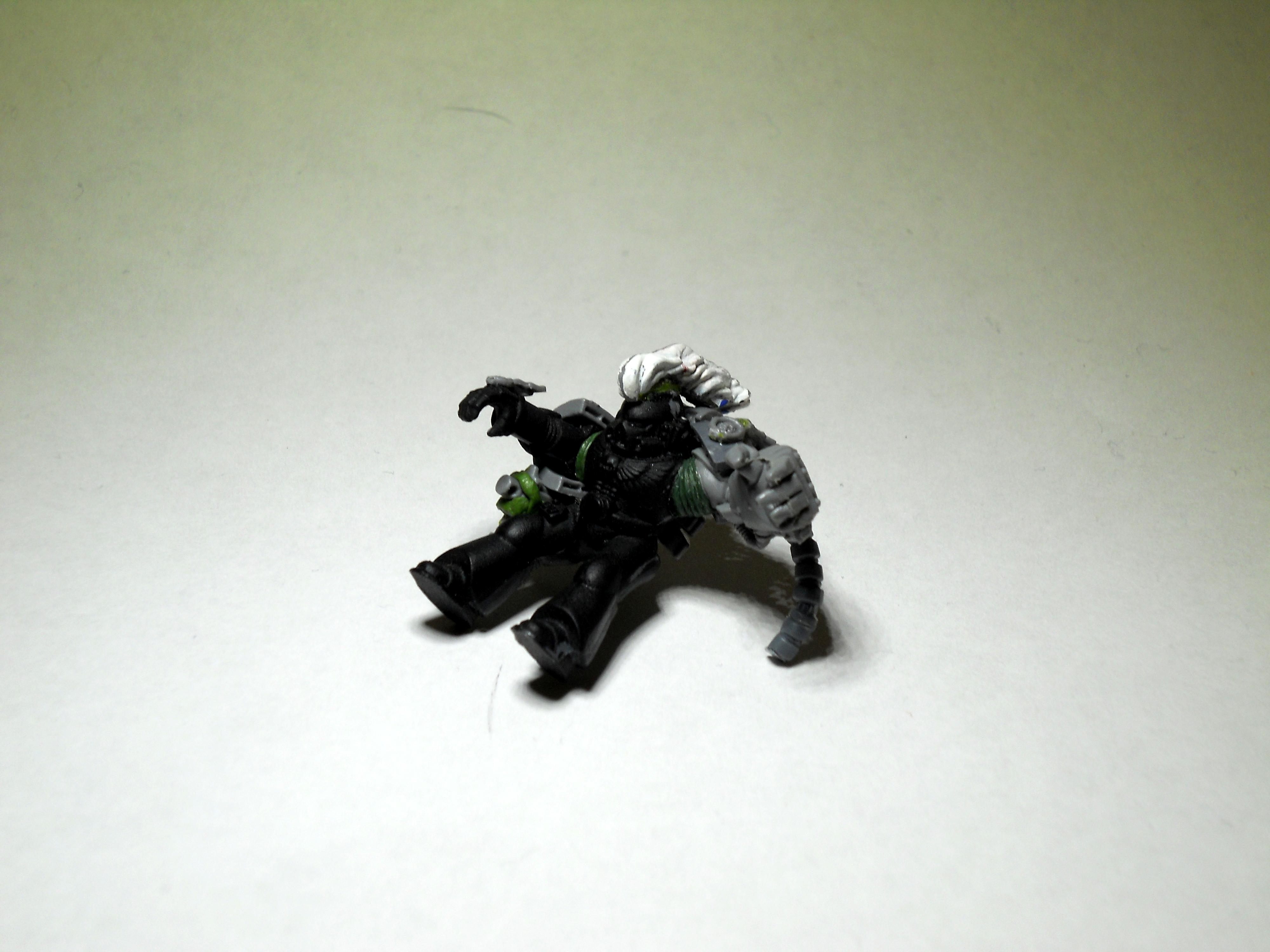 Conversion, Power Fist, Space Marines, Space Wolves