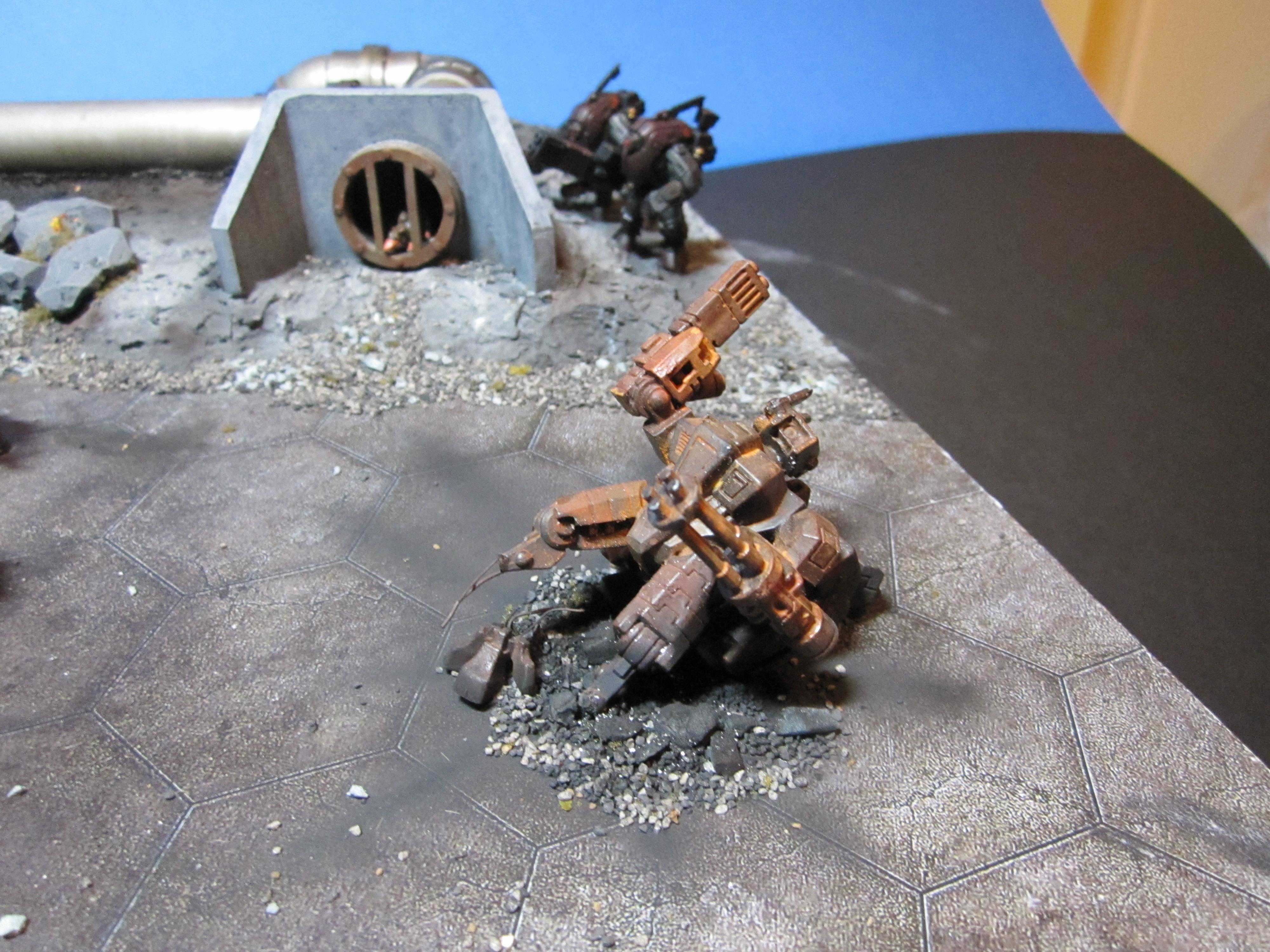 Diorama, Tau, Warhammer 40,000
