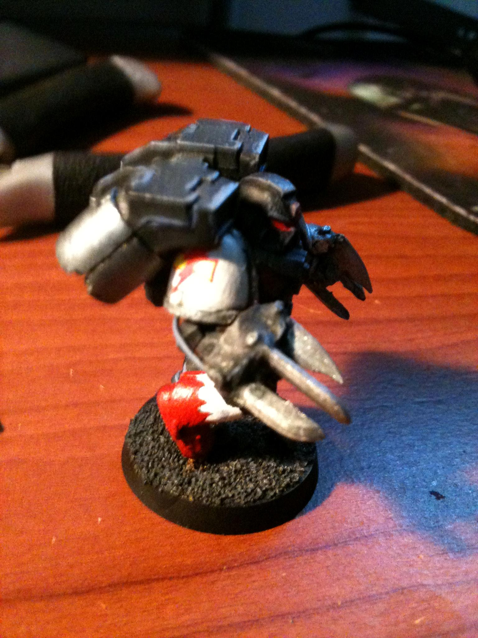 Assault Marines, Conversion, Deathwatch, Jump Pack, Lighning Claws, Power Armor, Space Marines, Wh40, White Scars