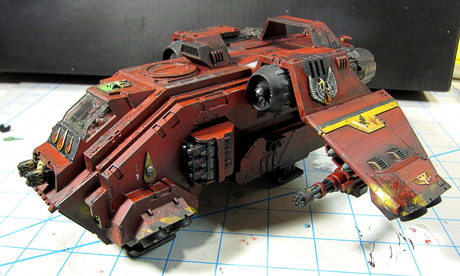 Blood Angels, Conversion, Space Marines, Storm Raven