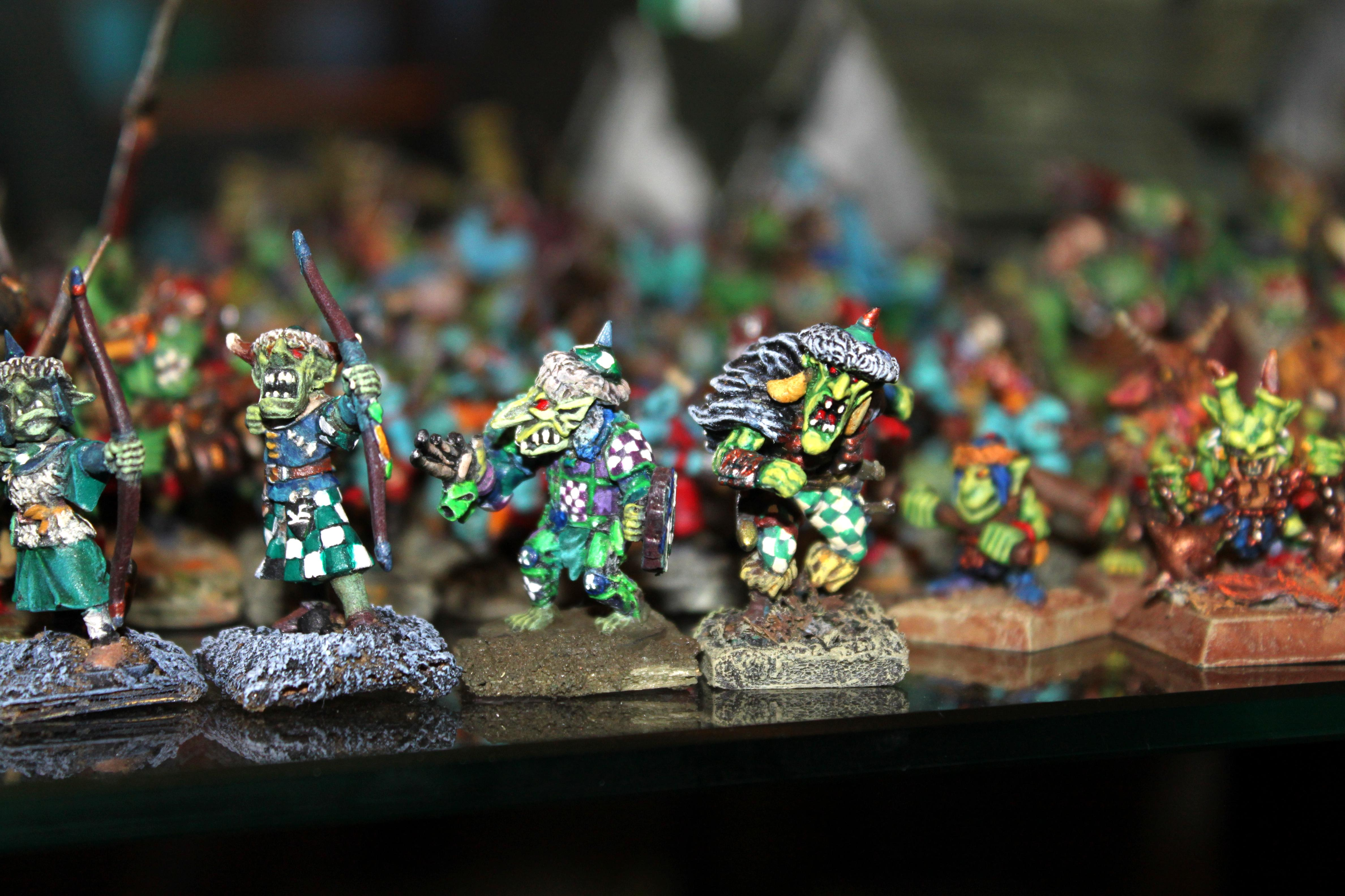 Chaos Dwarf, Conversion, Goblins, Hobgoblin, Mordheim, Orcs, Spider, Warhammer Fantasy, Wfb