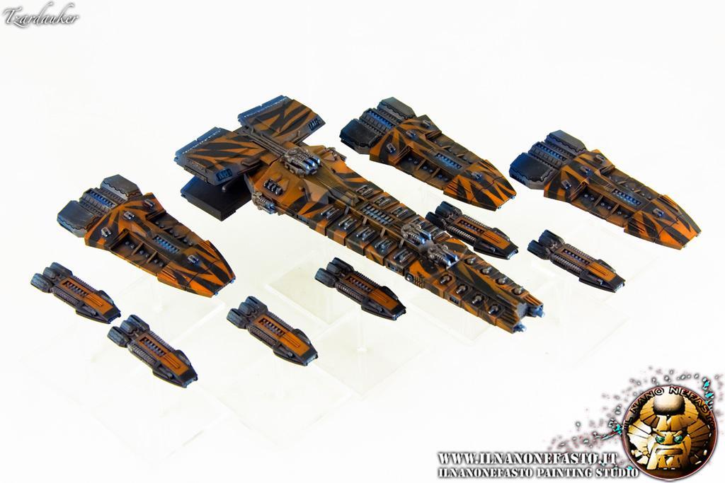 Airbrush, Battleship, Cruiser, Firestorm Armada, Frigate, Gothic, Ilnanonefasto.it, Space Ships, Spartan Games, Terran, Tzardauker