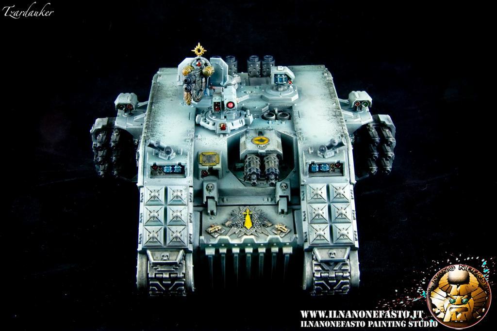 Land, Land Raider, Raider, Space Marines, Space Wolves, Tzardauker, Warhammer 40,000, Www.ilnanonefasto.it