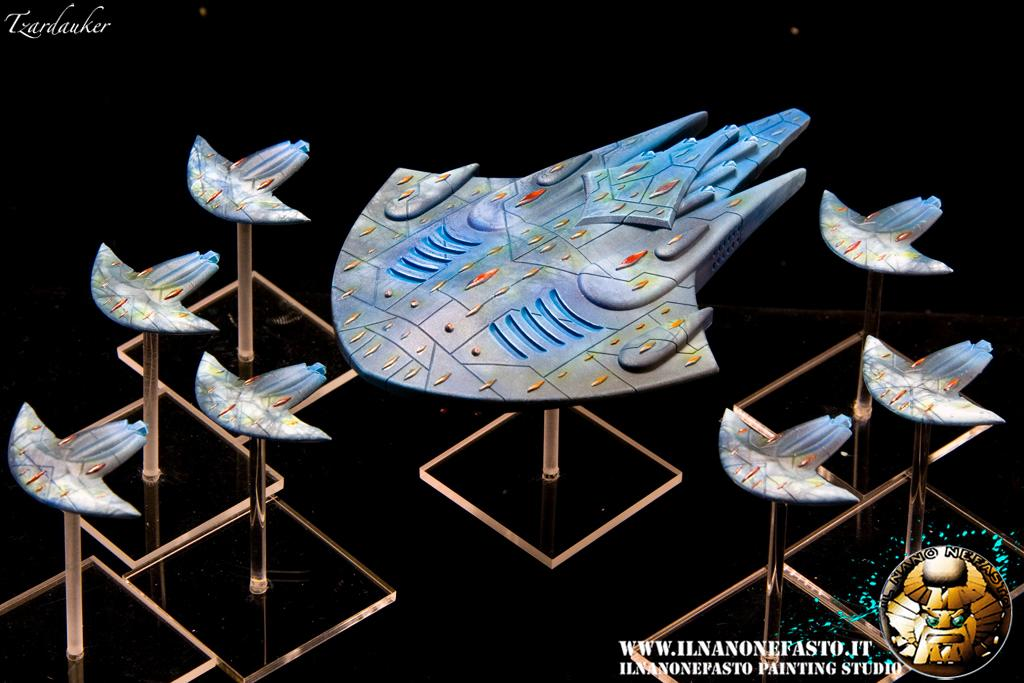 Aquan, Battlecarrier, Carrier, Escort, Firestorm Armada, Spartan Games, Tzardauker, Www.ilnanonefasto.it