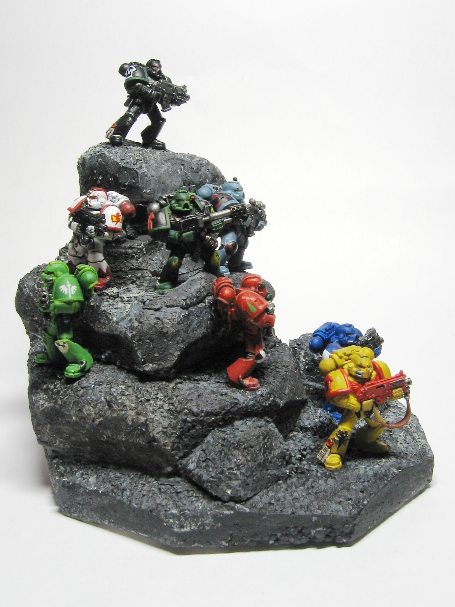 Diarama, First Founding, Space Marines