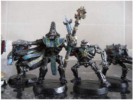 Dettol, Lead, Metal, Necrons, Out Of Production, Painting, Stripping