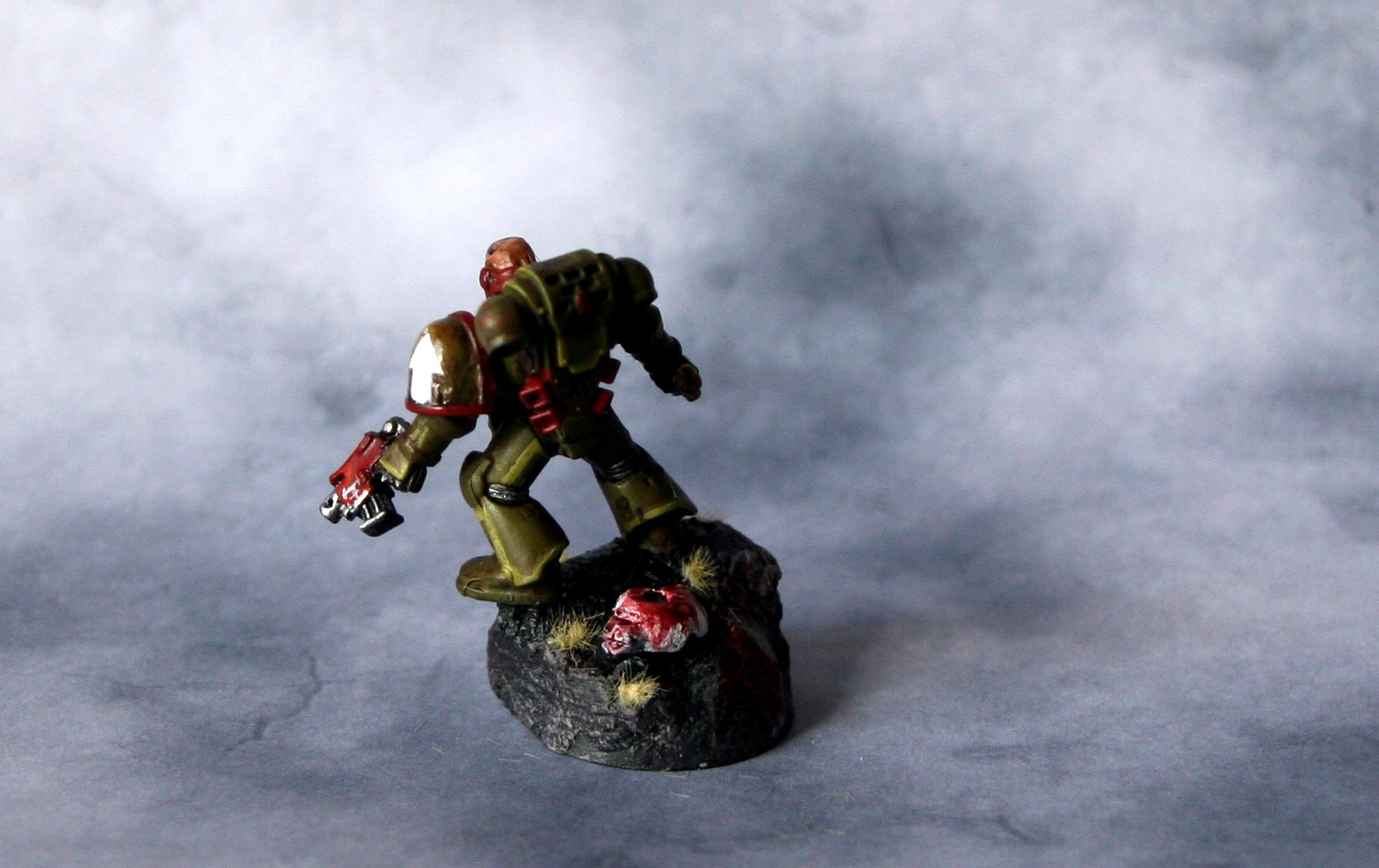 Captain, Power Sword, Space Marines, Warhammer 40,000