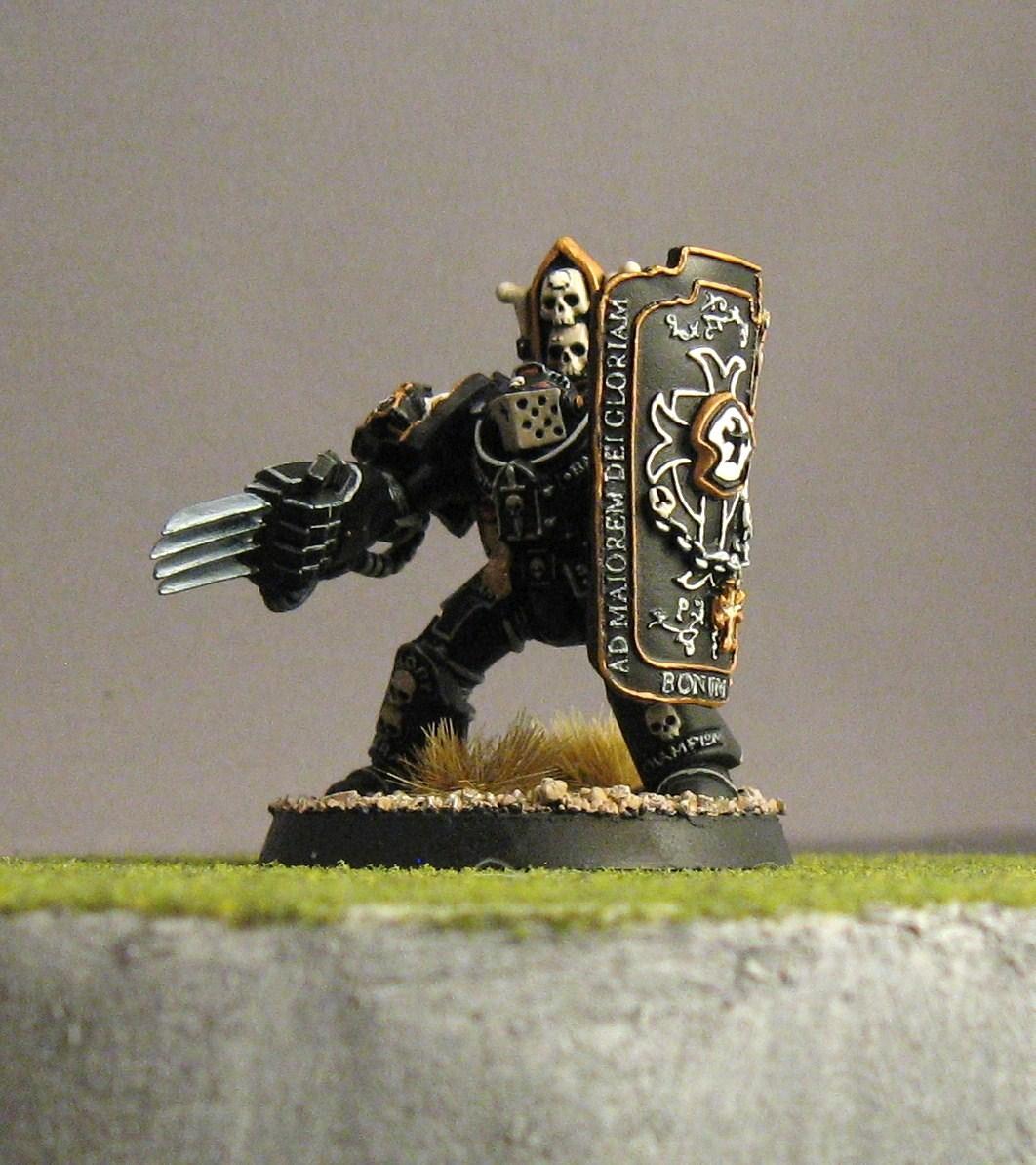 Black Templars, Lightning Claw, Marshal, Storm Shield, Terminator Armor