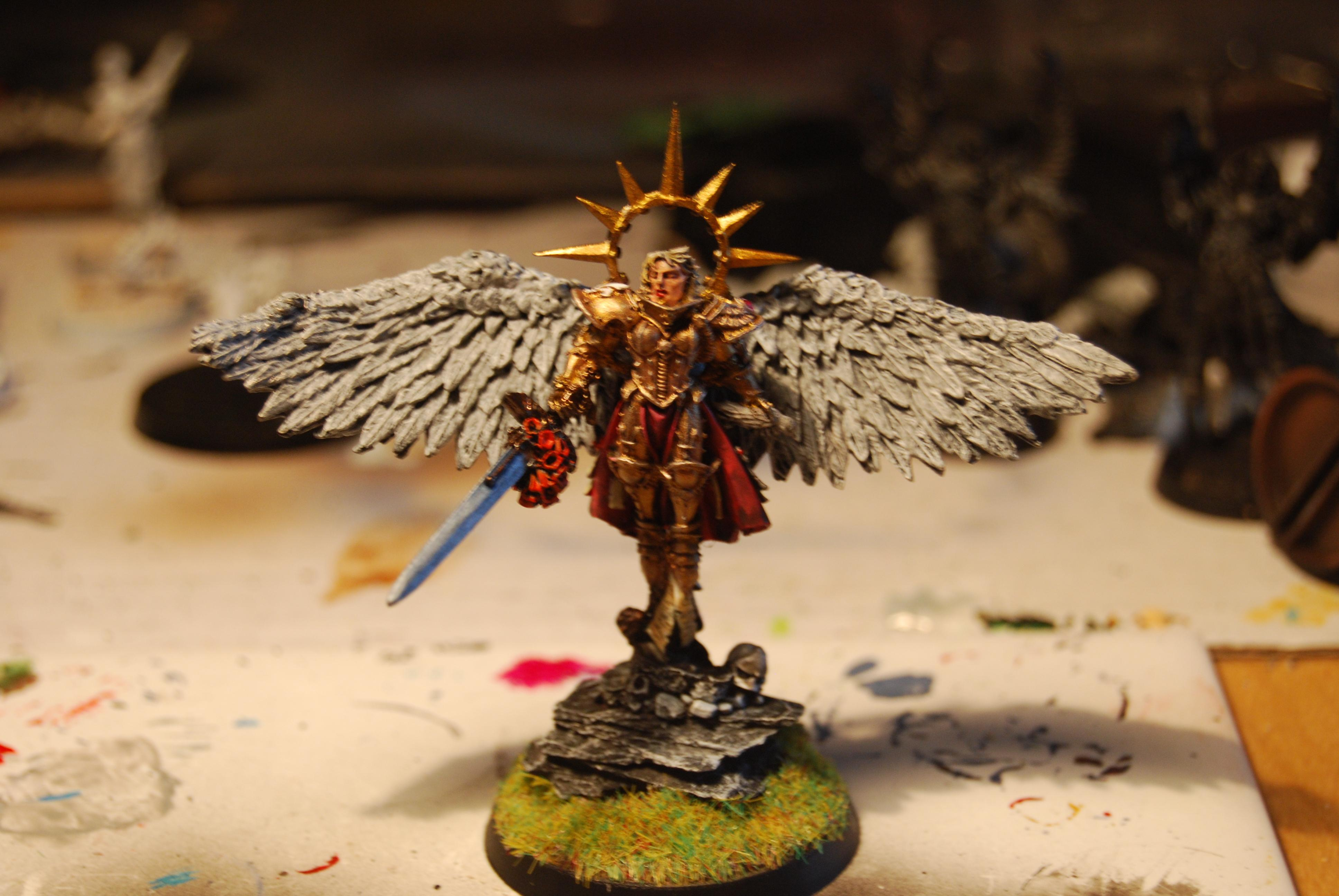 Daemonhunters, Inquisition, Living Saint, Sisters Of Battle, Warhammer 40,000, Witch Hunters