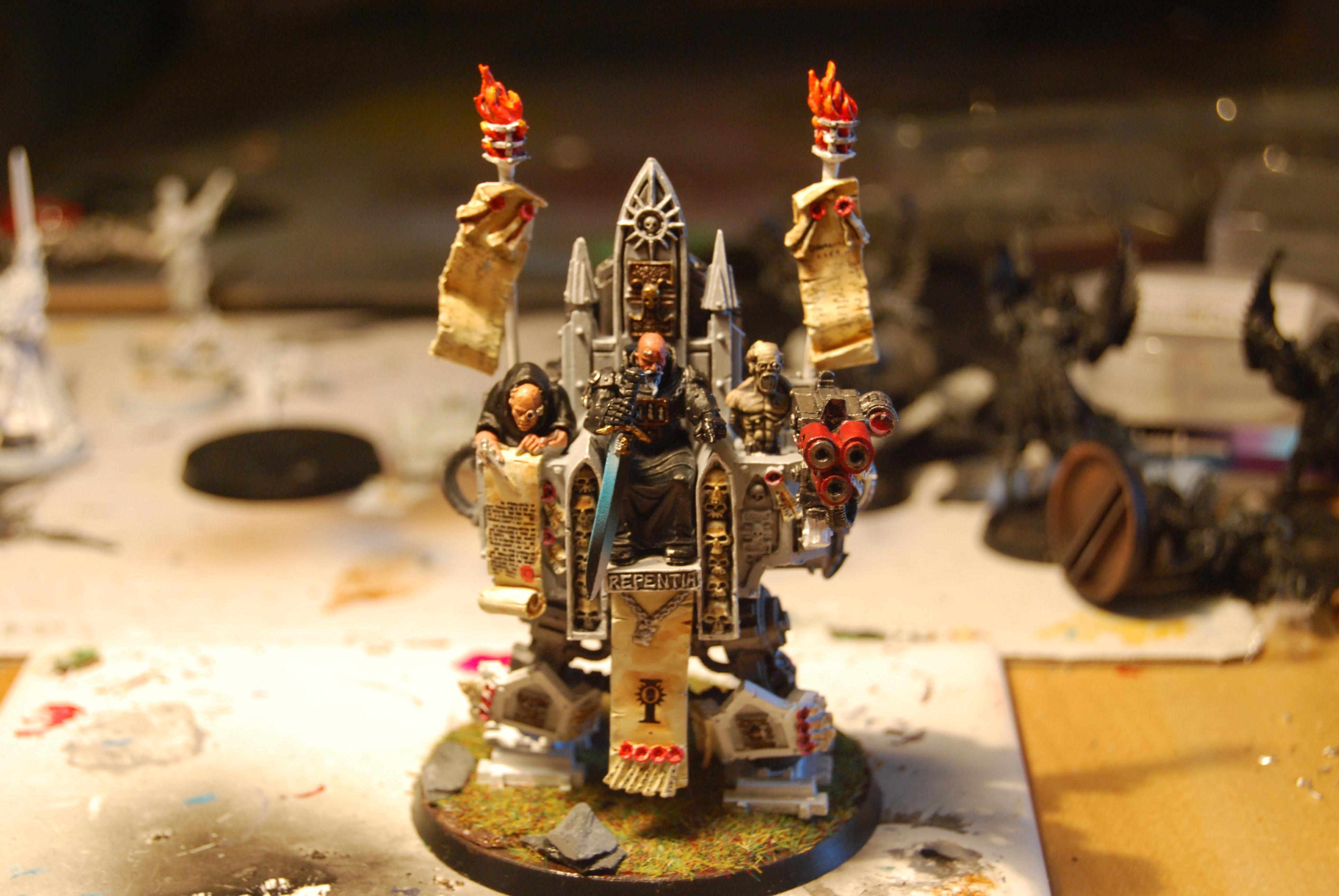 Daemonhunter, Grey Knights, Inquisitor, Inquisitor Karamazov, Sisters Of Battle, Warhammer 40,000