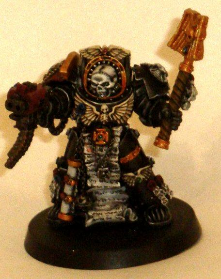 Chaplain, Space Marines, Terminator Armor, Terminator Chaplain, Work In Progress