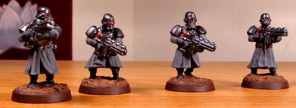 Imperial Guard, Shock Troopers, Wargames Factory, Warhammer 40,000