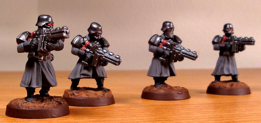 Imperial Guard, Shock Troopers, Wargames Factory, Warhammer 40,000