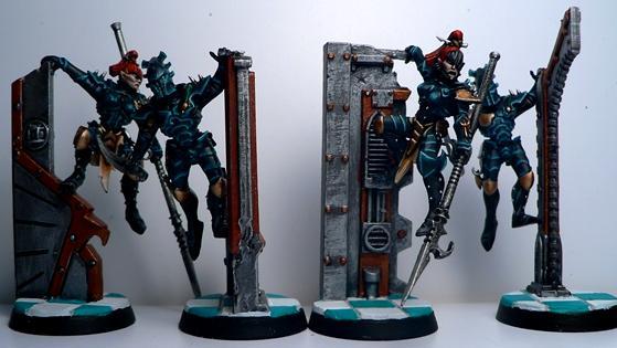 Conversion, Dark Eldar, De, Warriors