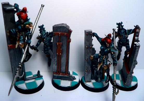 Conversion, Dark Eldar, De, Warriors