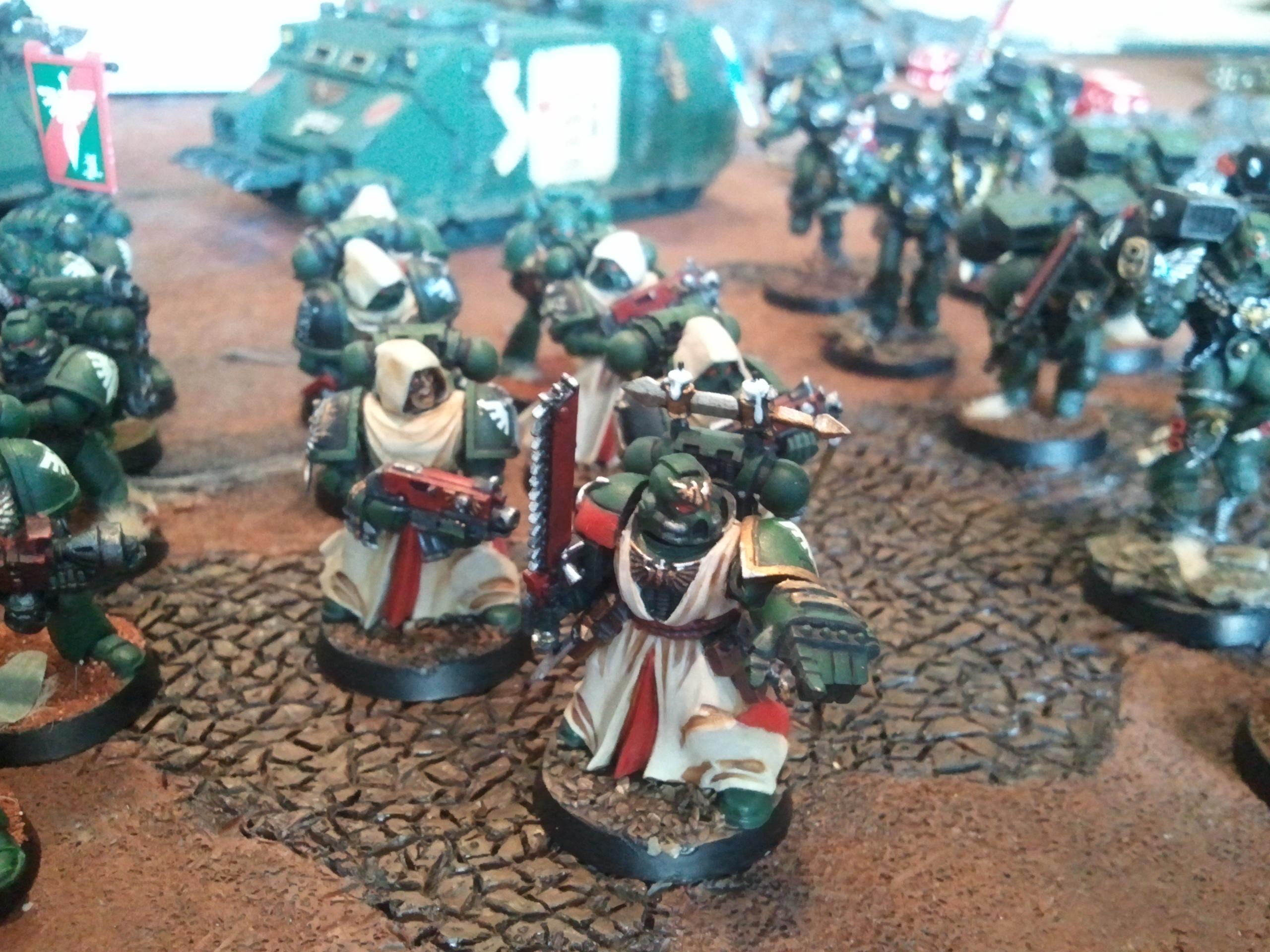 Army, Dark Angels, Space Marines