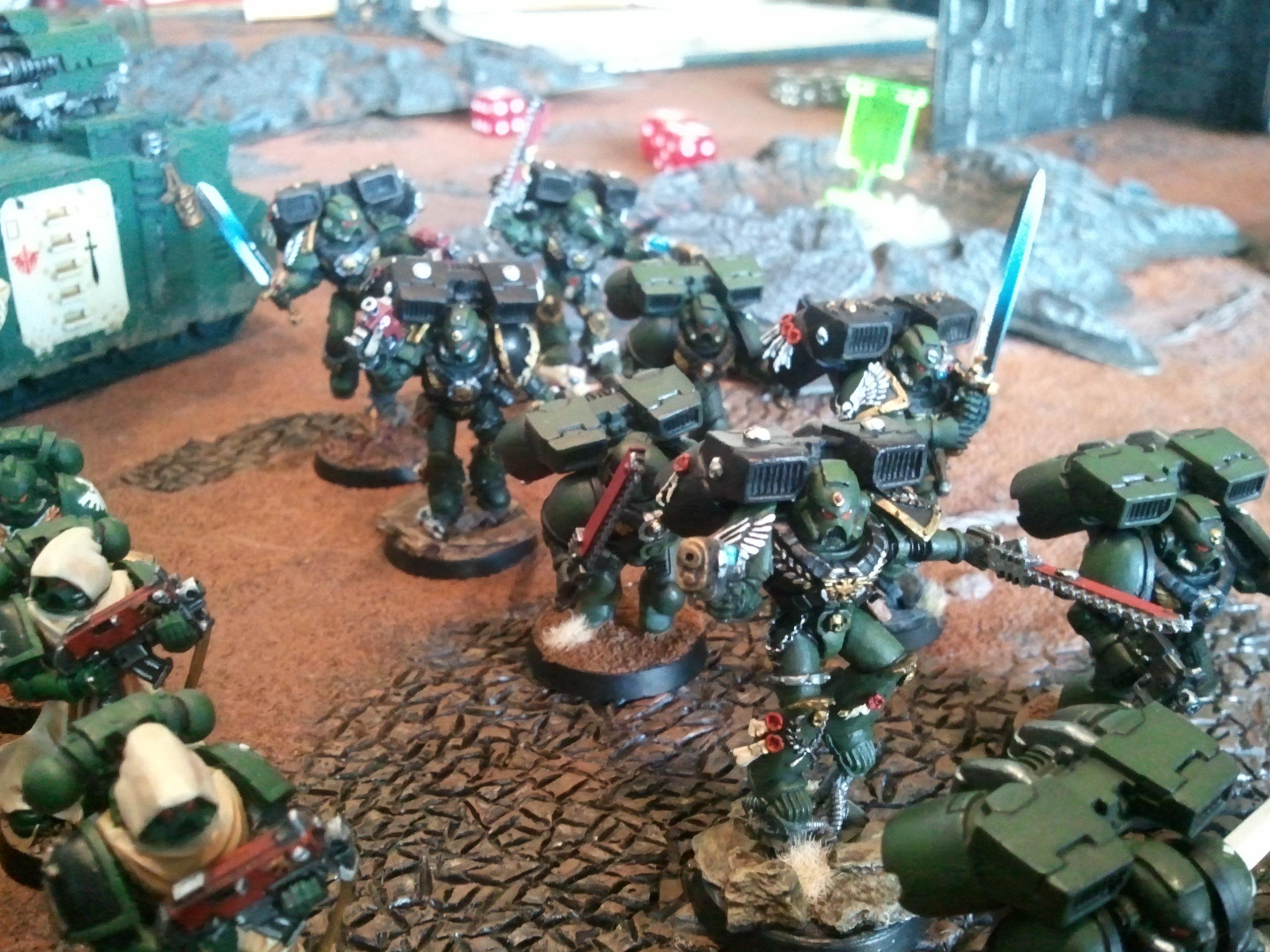 Assault Marines, Dark Angels, Space Marines
