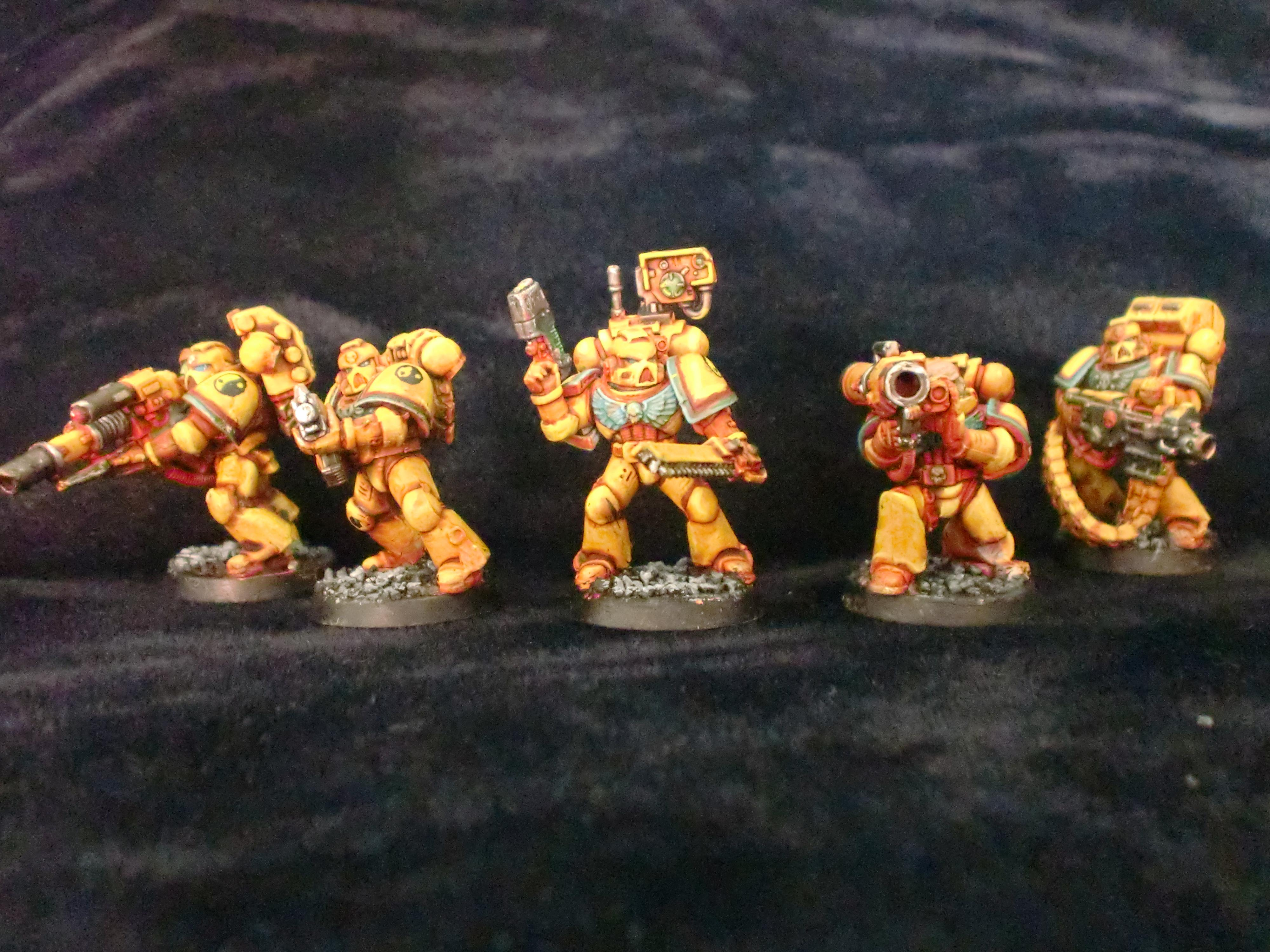 Devastators, Space Marines, Warhammer 40,000