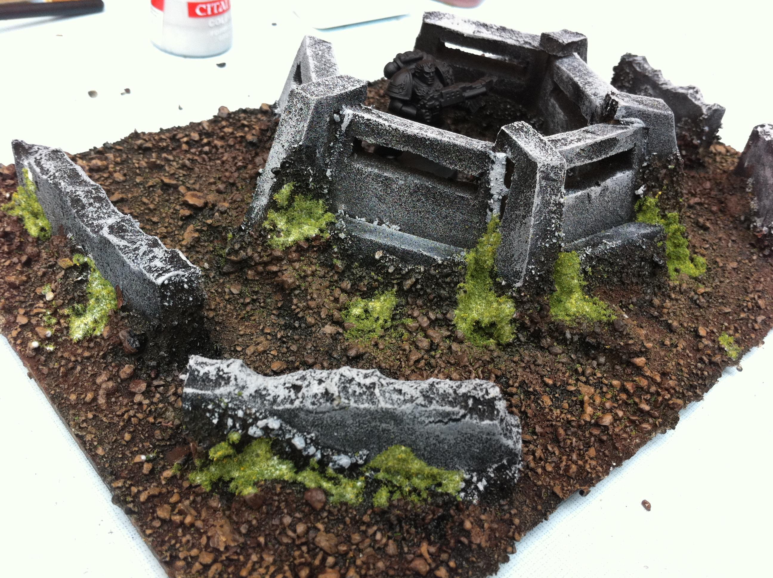 Bunker, Terrain, Warhammer 40,000