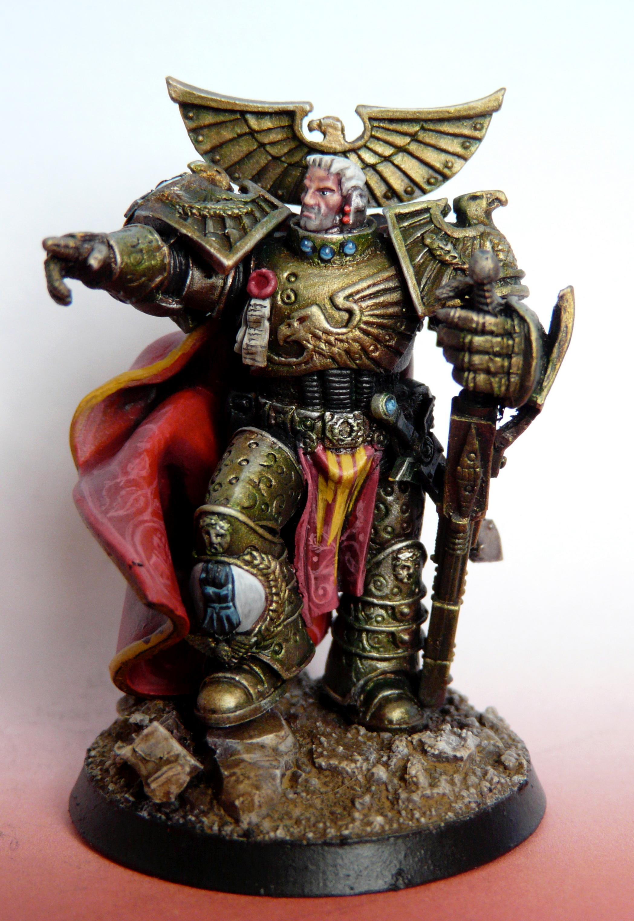 Horus Heresy, Imperial Fists, Primarch, Rogal Dorn