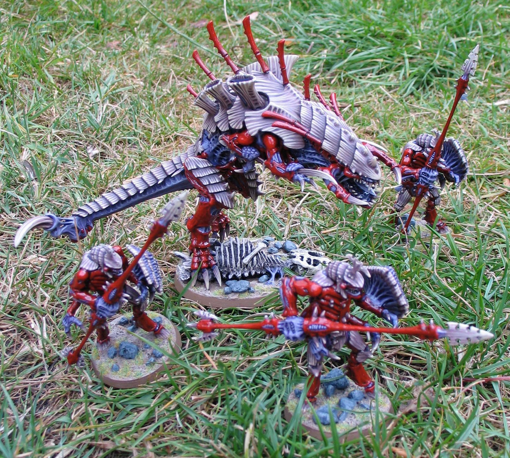 Behemoth, Hive Tyrant, Swarmlord, Tyranids, Tyrant Guard