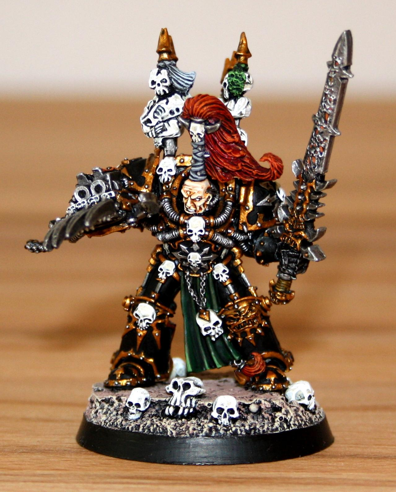 Abaddon, Chaos Space Marines, Finecast, Undivided Chaos