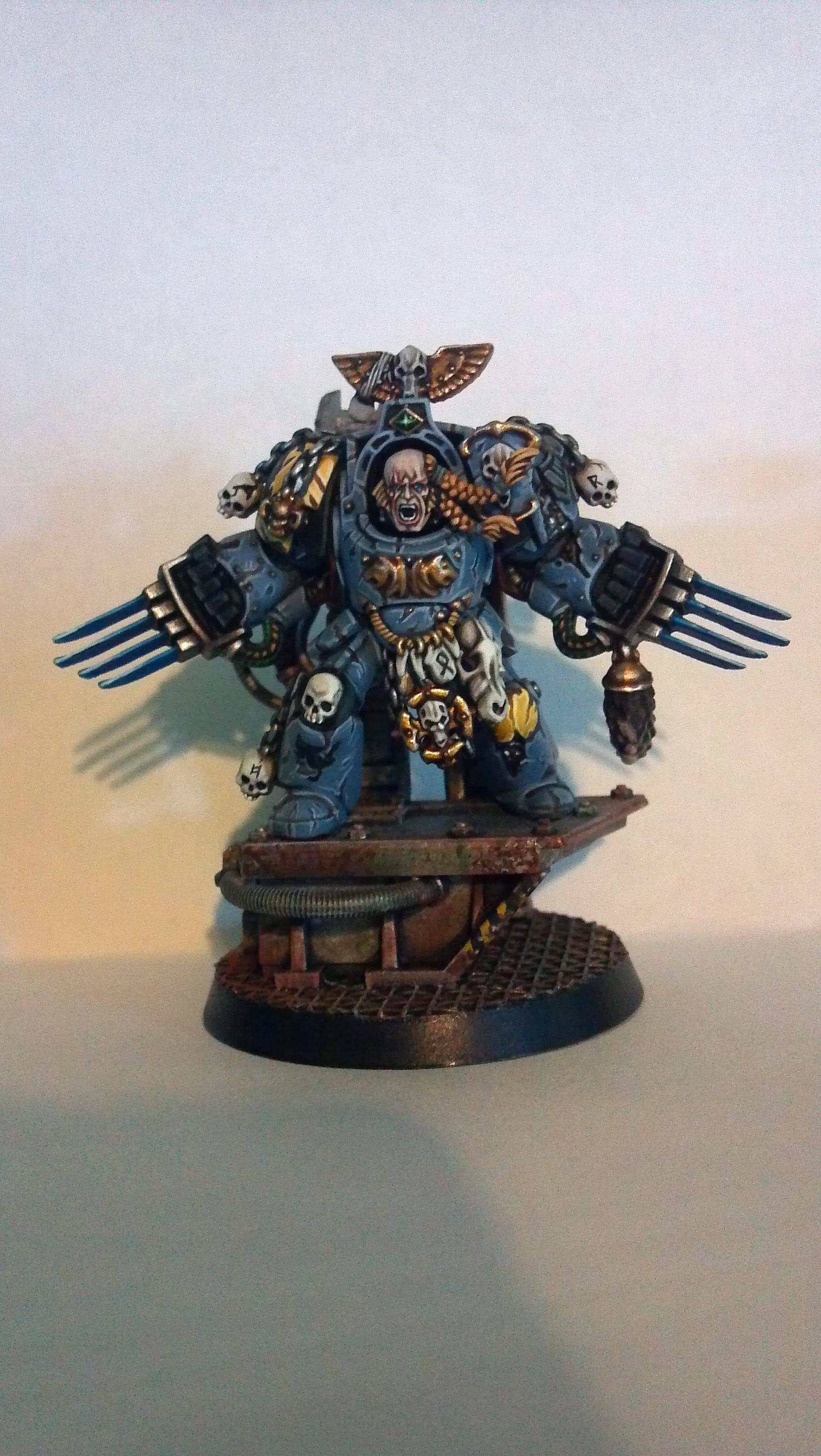 Coversion, Lord, Space, Space Hulk, Space Marines, Space Wolves, Warhammer 40,000, Wolf