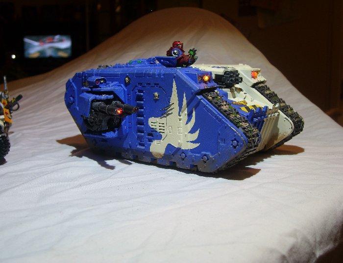 Eagle Warriors, Land Raider, Space Marines
