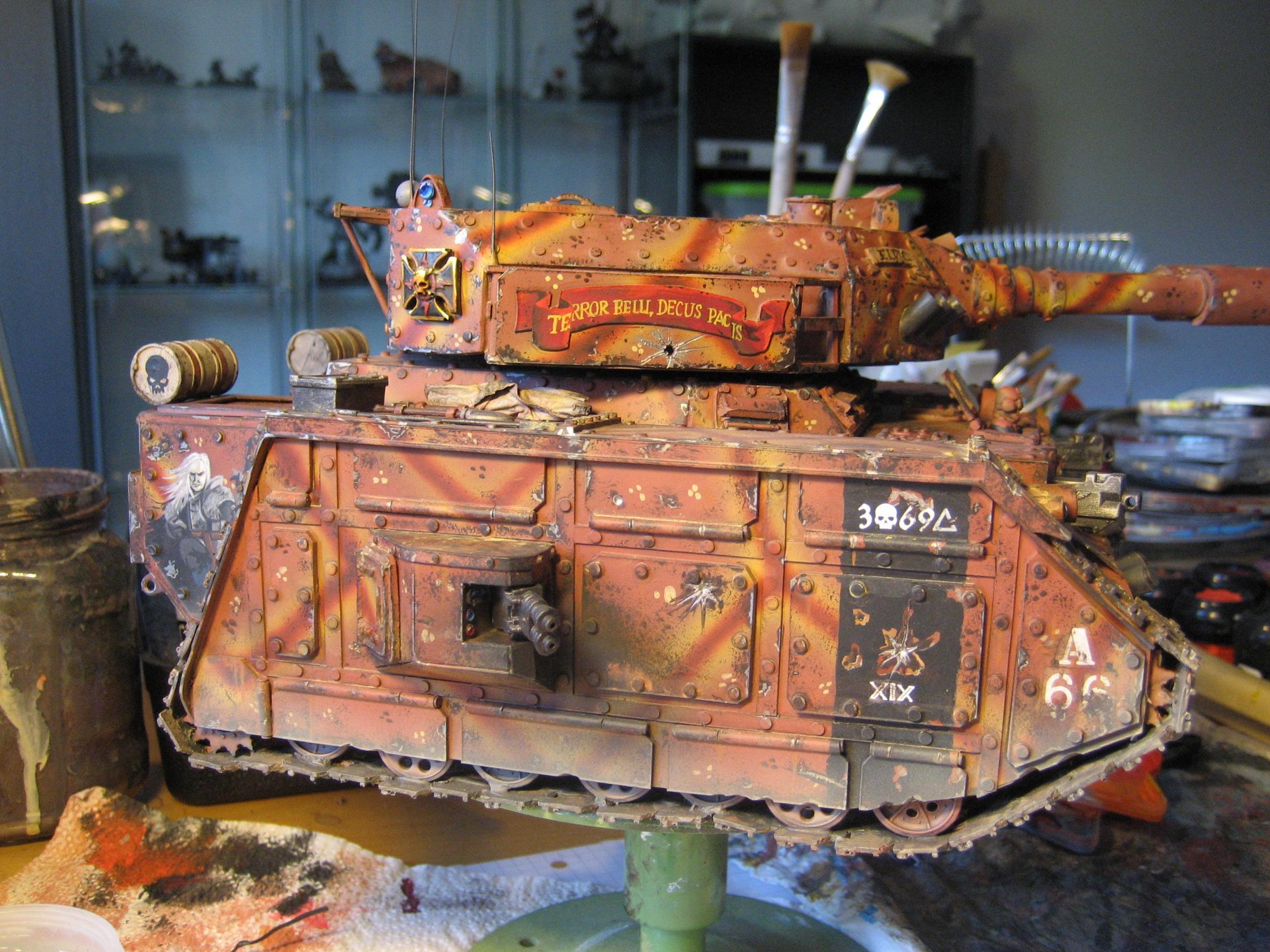 Scratch Build, Super-heavy, Tank, Warhammer 40,000