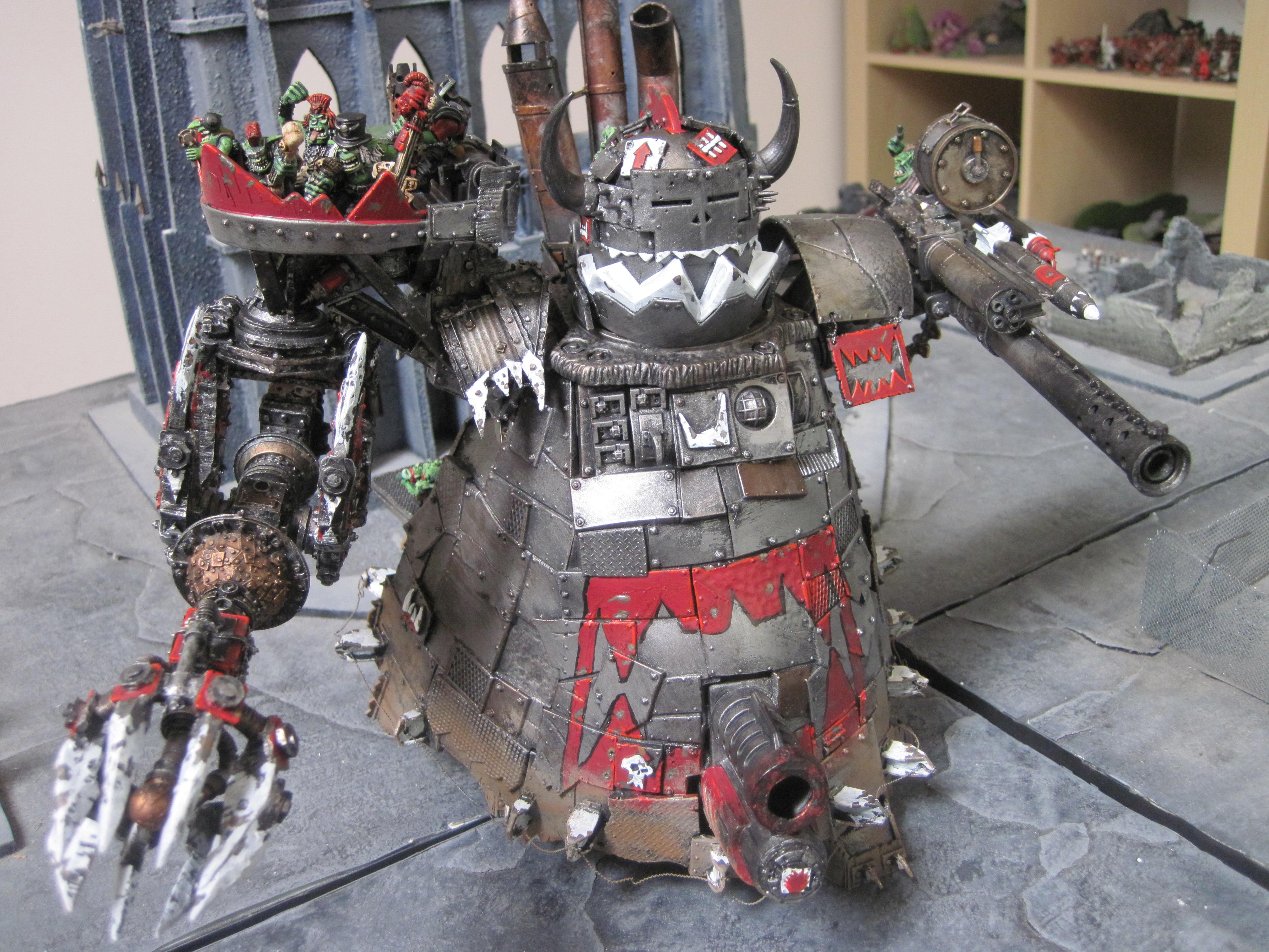 Apocalypse, Conversion, Orks, Stompa, Warhammer 40,000
