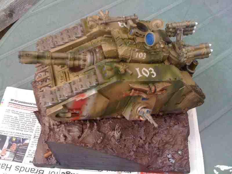 Tank, Storm tank