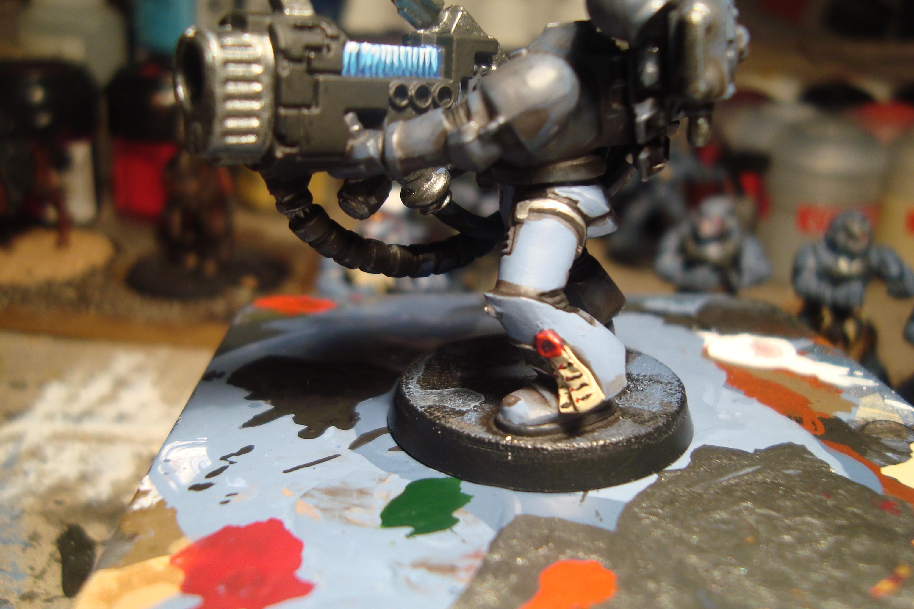 Leg armour, stage 5