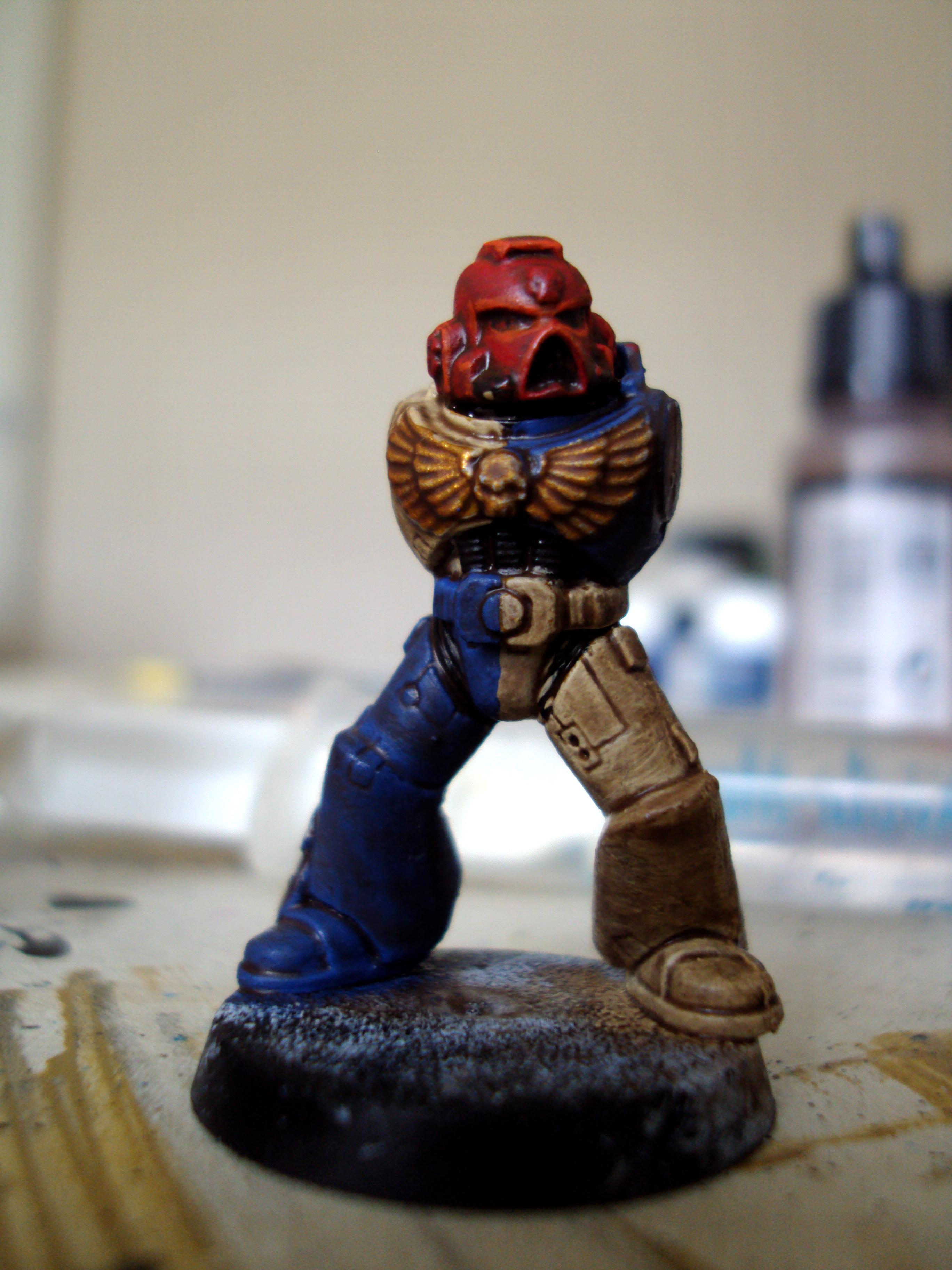 Space Marines, Unfinished