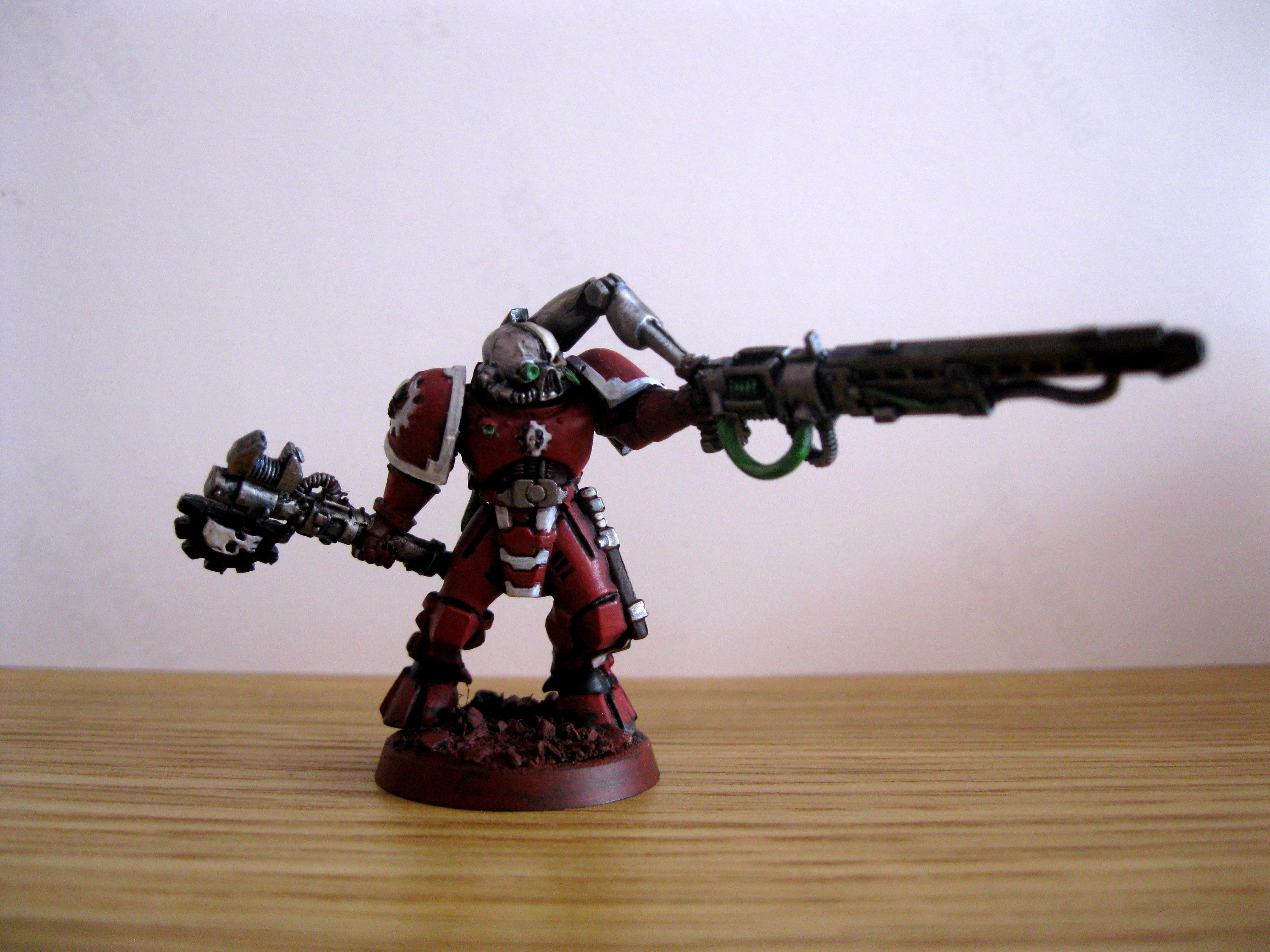 Adeptus Mechanicus, Conversion, Servo Arm, Techmarine