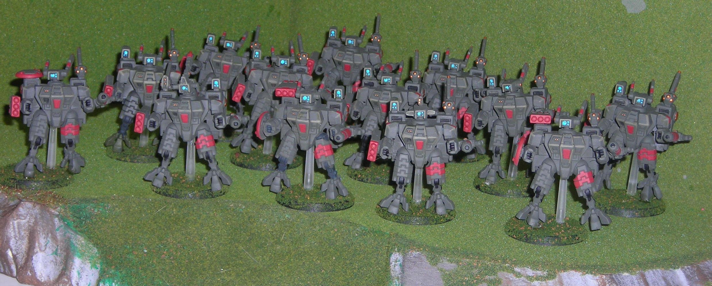 Suits, Tau, Warhammer 40,000