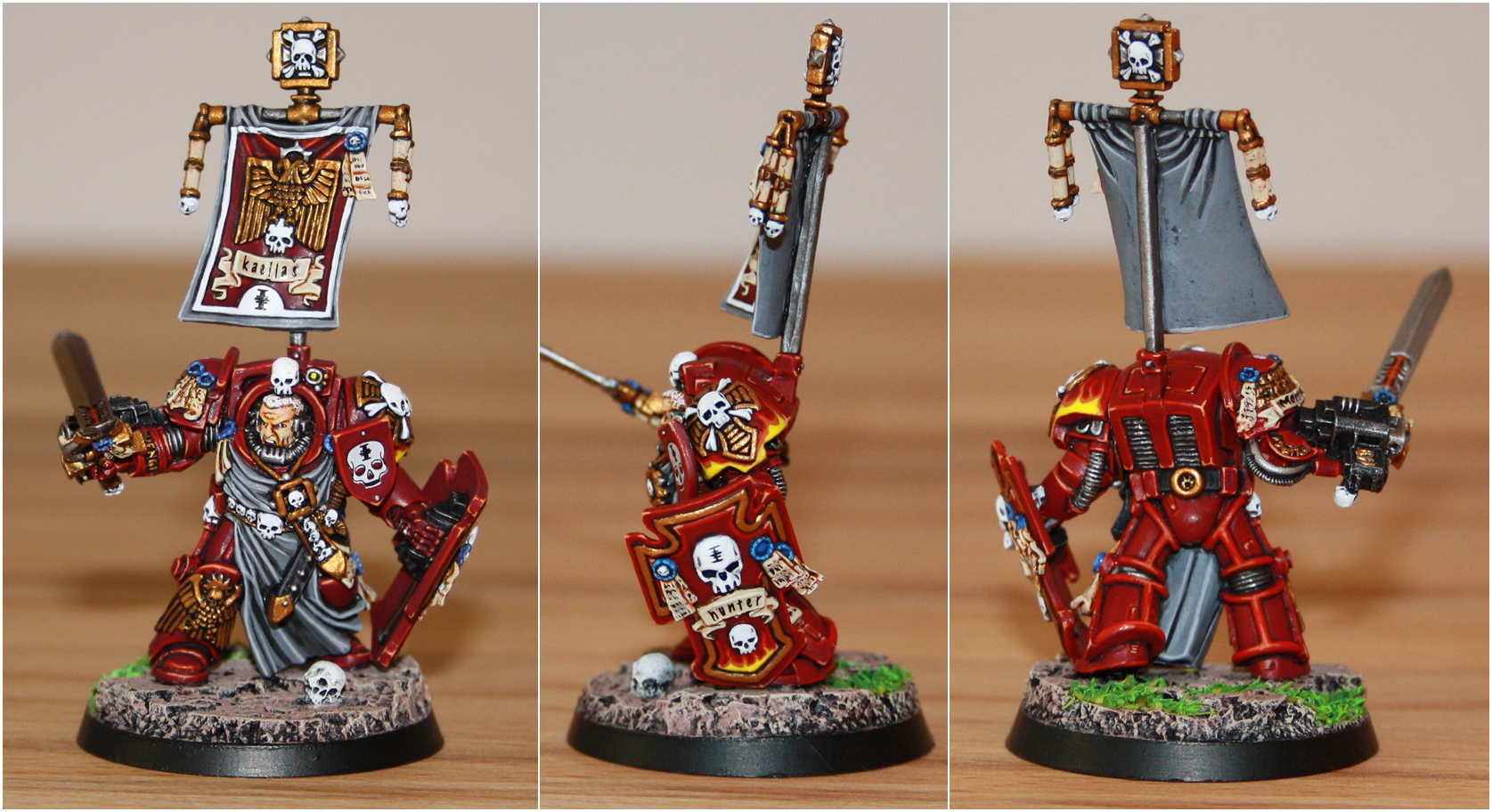 Inquisition, Red_hunters, Space Marines, Terminator Armor