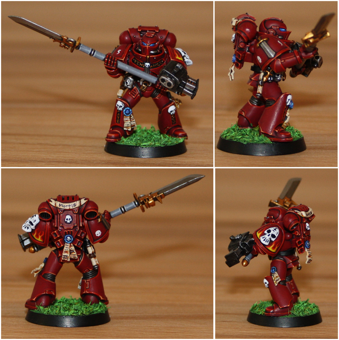 Grey Knights, Red Hunters, Space Marines, Veteran