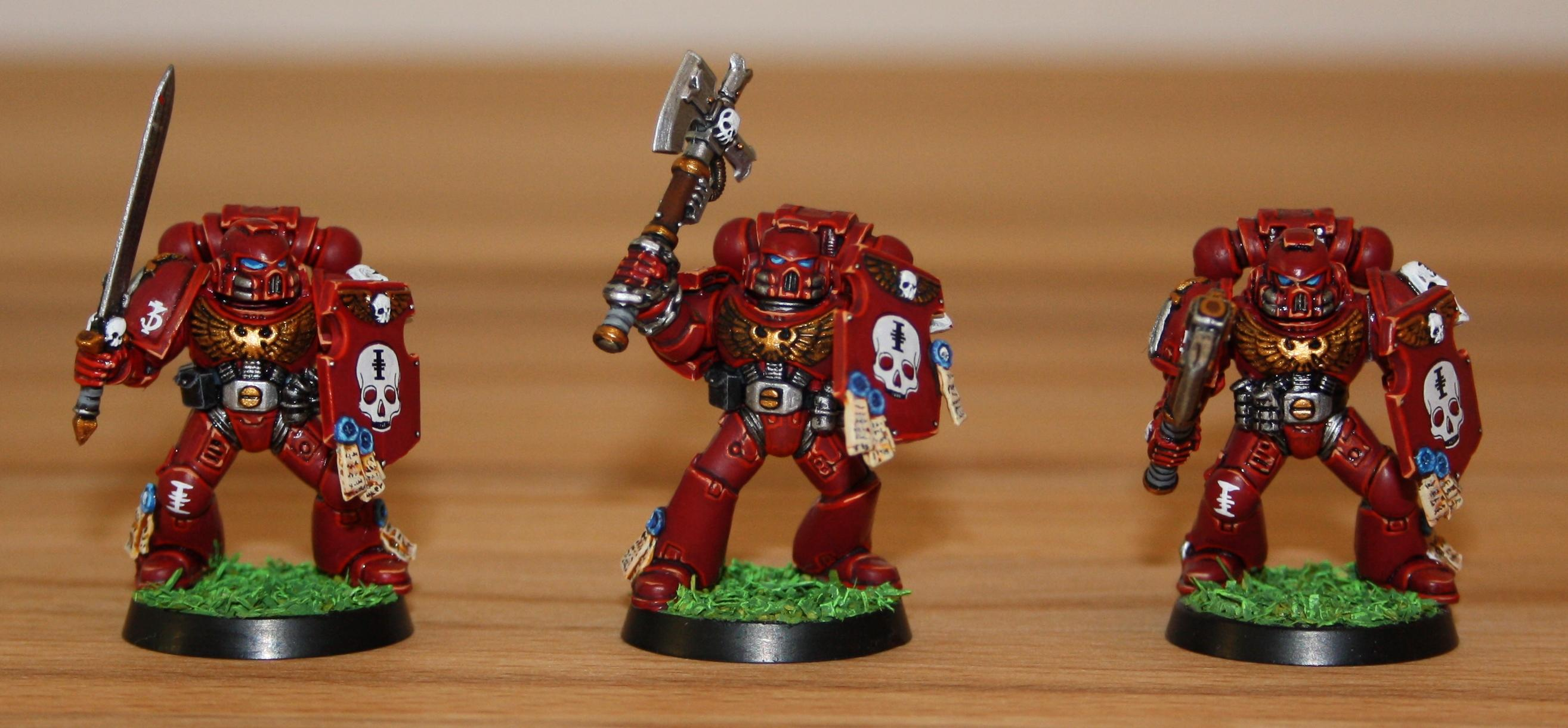 Red Hunters, Space Marines, Veteran