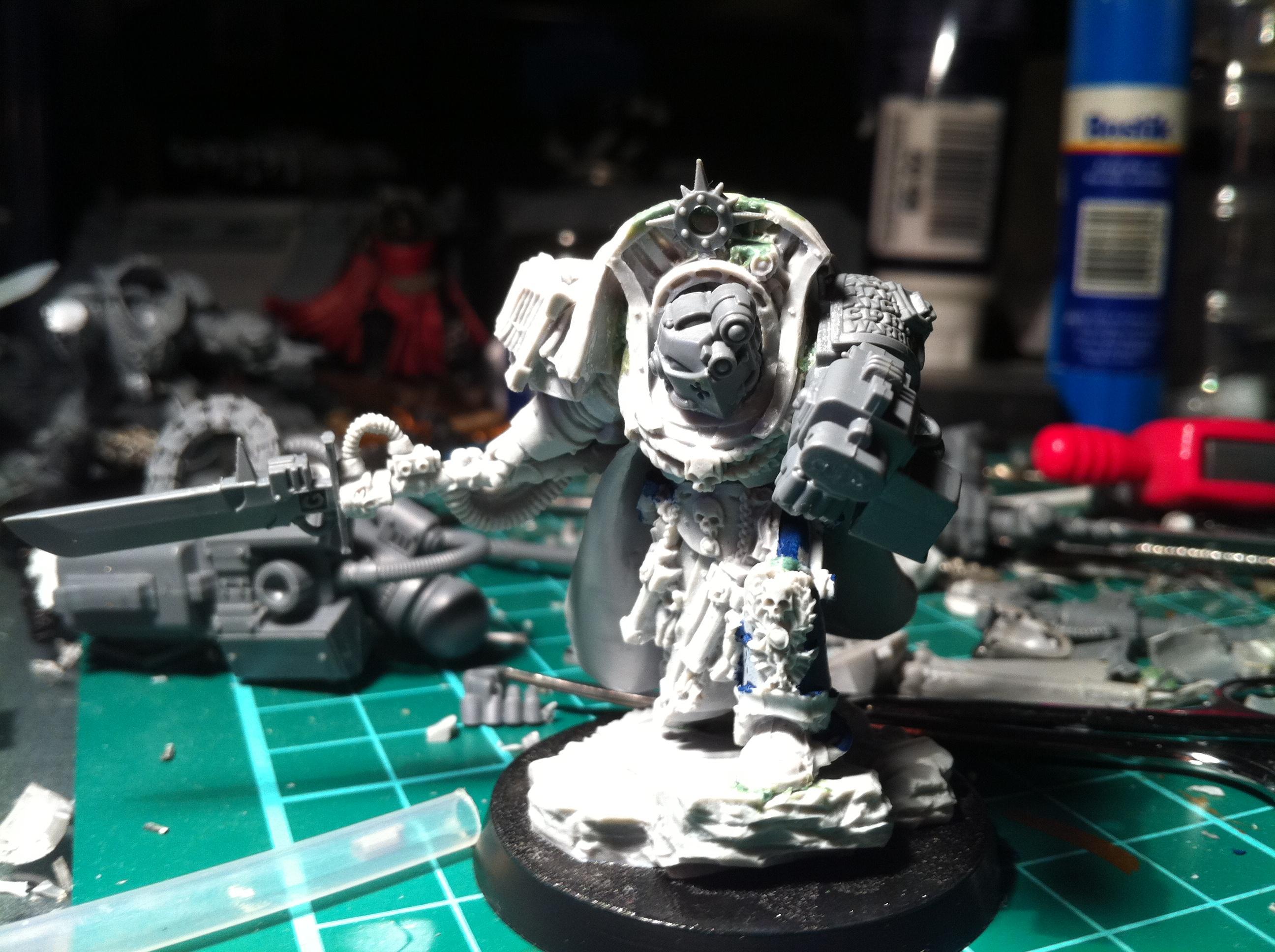 Grey Knights, Work In Progress