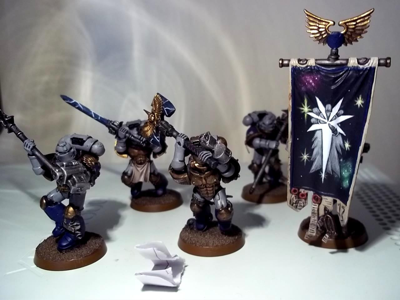 Astral Cllaws, Characters, Honour Guard, Huron, Llufght, Space Marines