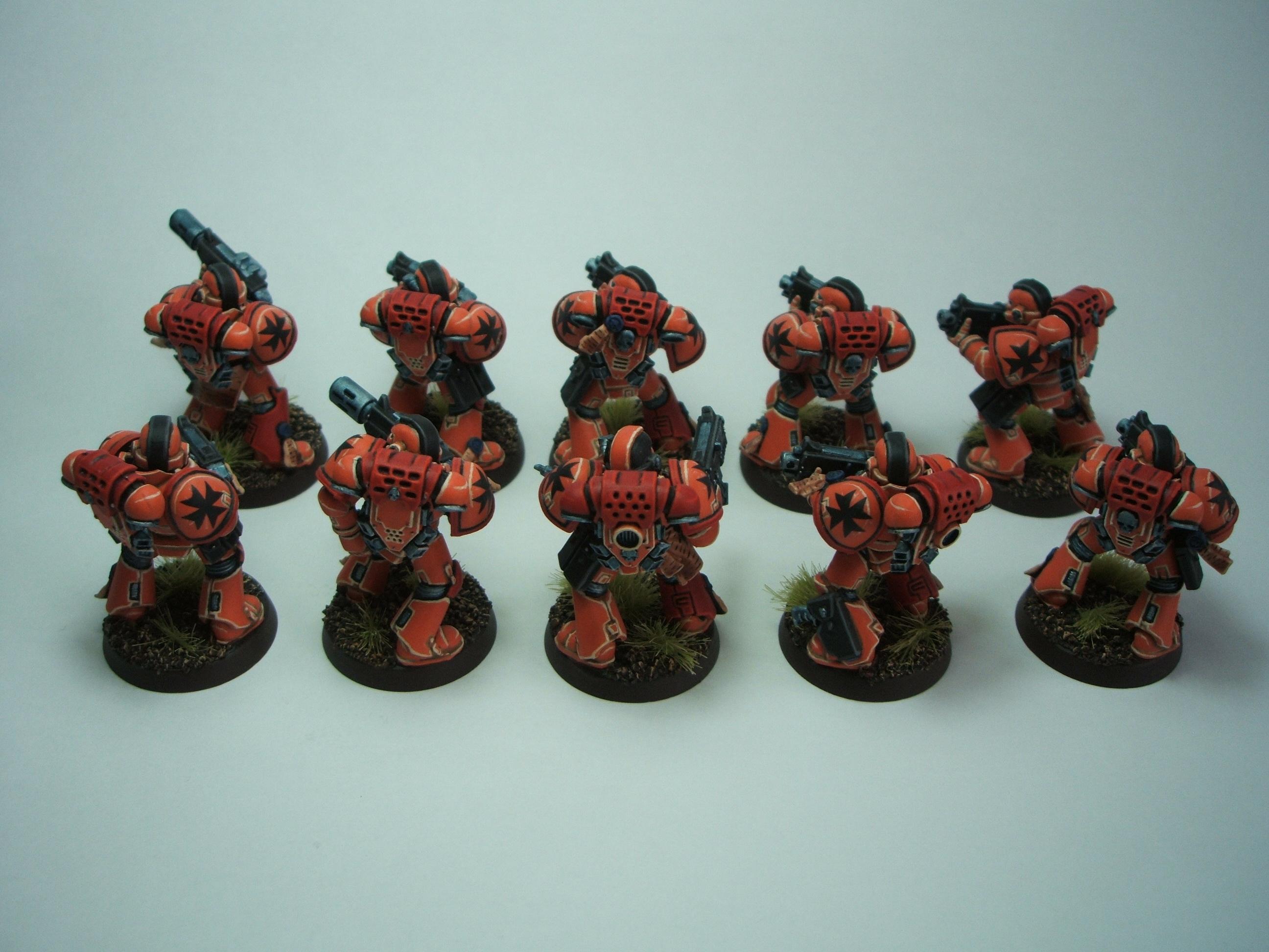 Mega Marines, Space Marines, Warhammer 40,000