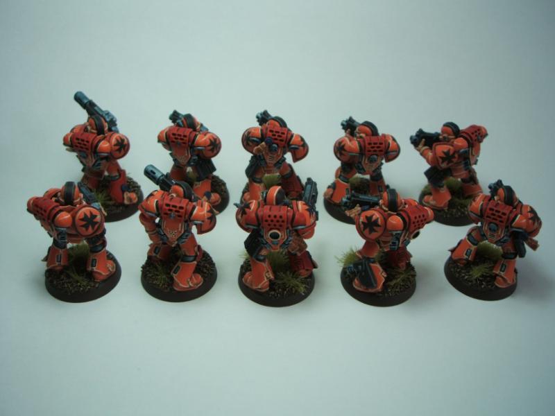 Mega Marines, Space Marines, Warhammer 40,000 - Squad Group