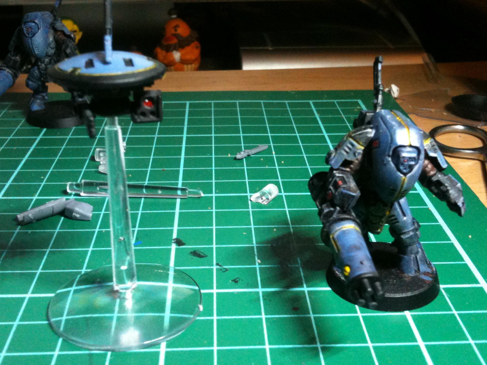 Tau, Work In Progress, Xv25 Stealth Suit