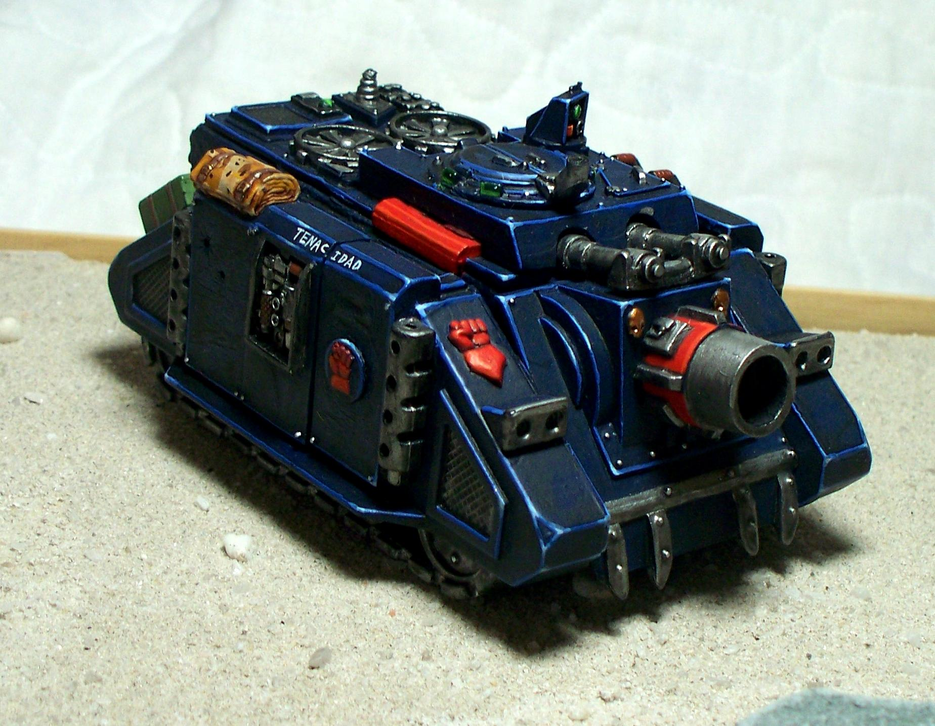 Crimson Fists, Space Marines, Tank, Vindicator, Warhammer 40,000