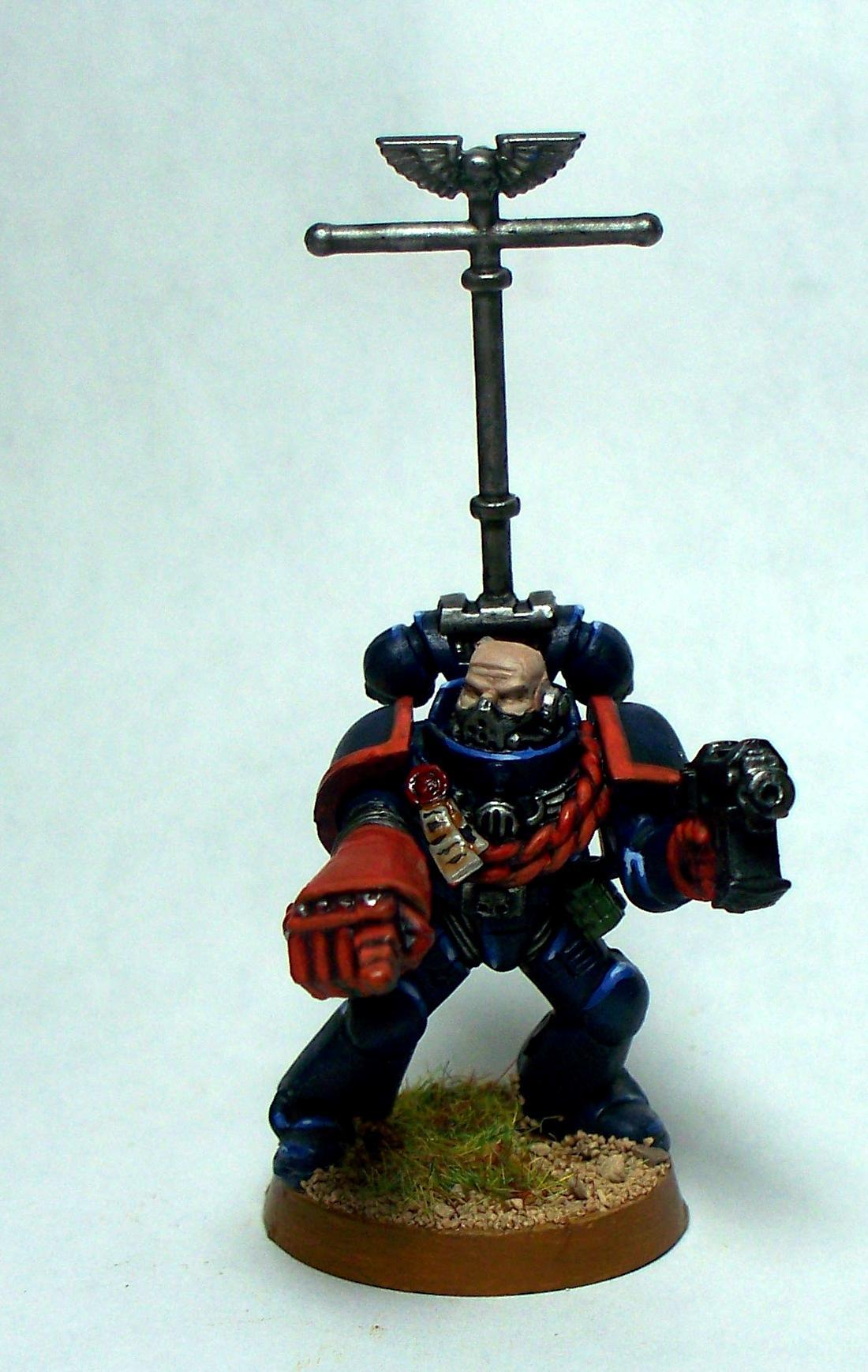 Crimson Fists, Sergeant, Space Marines, Sternguard, Warhammer 40,000