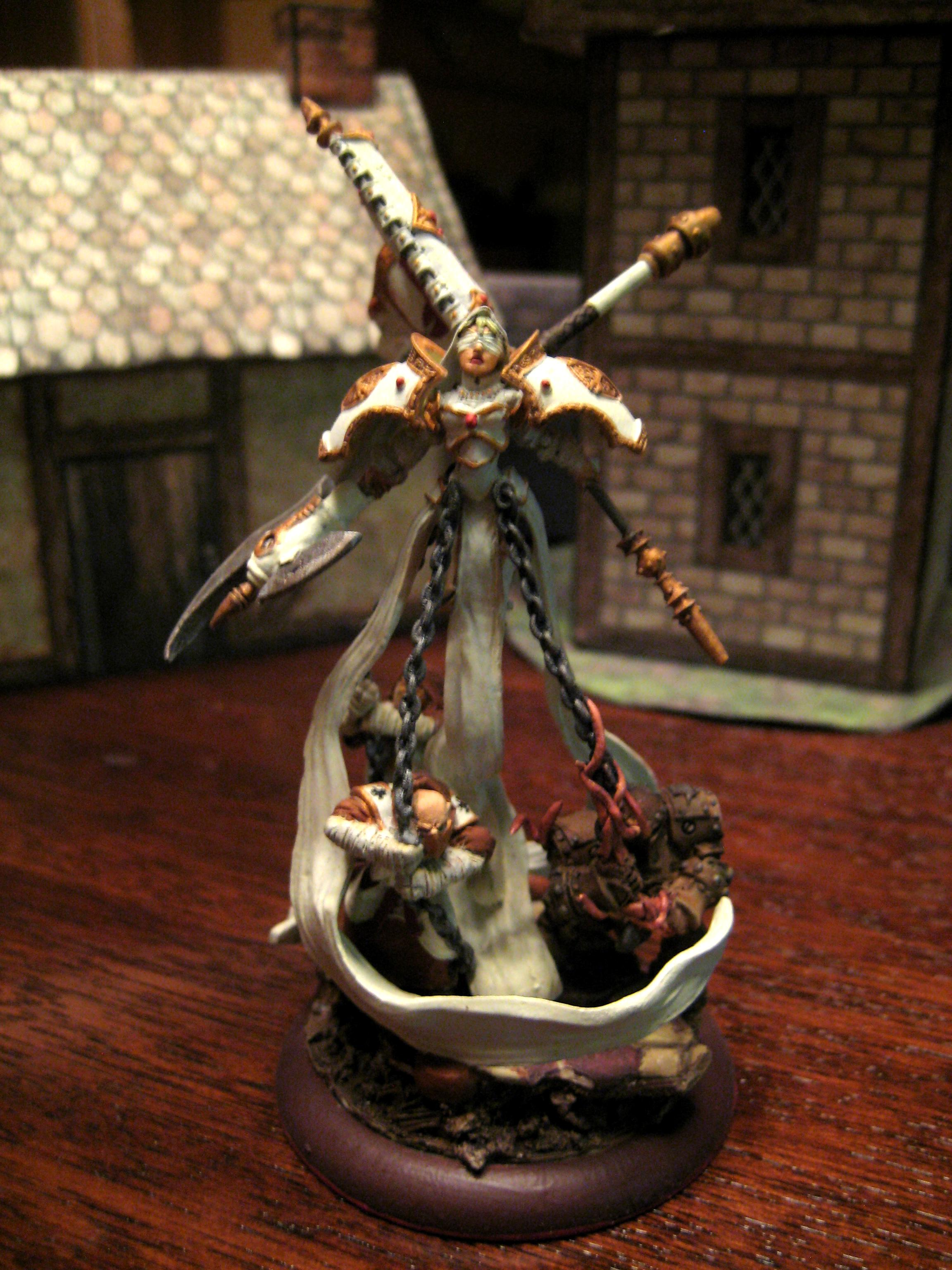Custom Harbinger Menoth Warmachine Tentacles Sp4m, Harbinger Menoth Corrupt Horgenhold Sp4m Tentacles