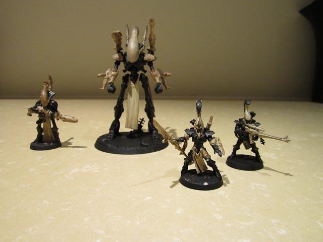 Dire Avengers, Eldar, Exarch, Wraithbone, Wraithguard, Wraithlord