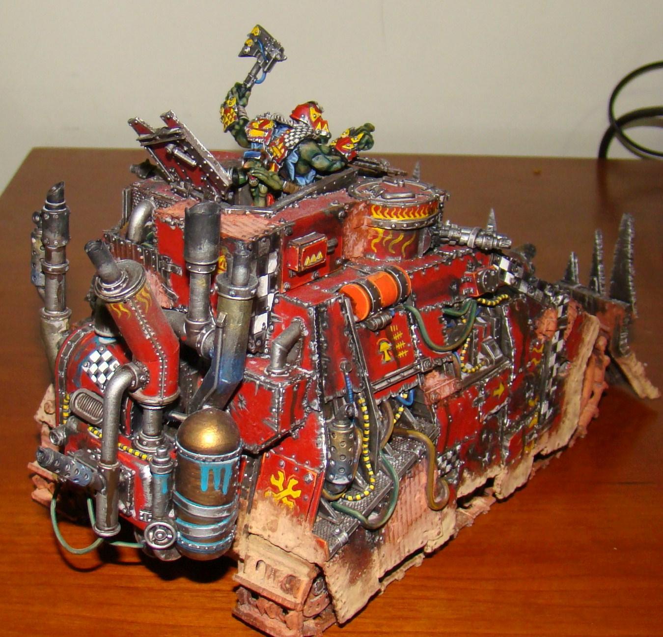 Ork Battle Wagon, Orks