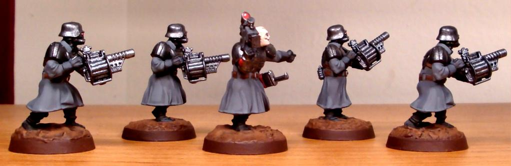 Greatcoats, Imperial Guard, Wargames Factory, Warhammer 40,000