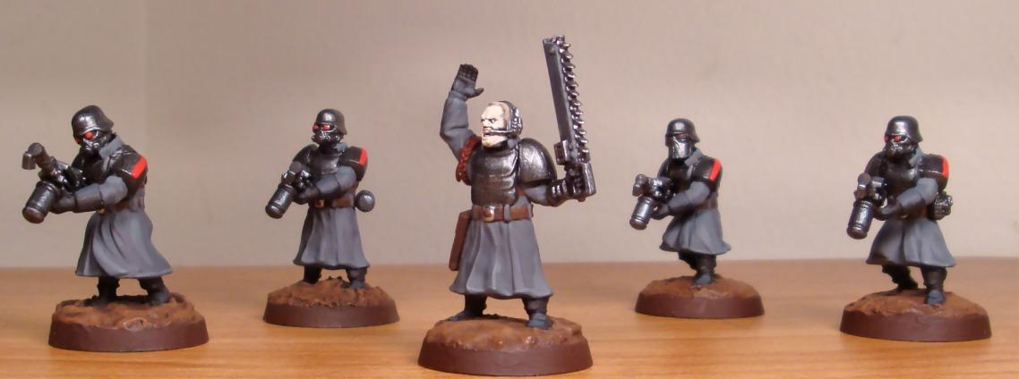 Greatcoats, Imperial Guard, Shock Troopers, Wargames Factory, Warhammer 40,000